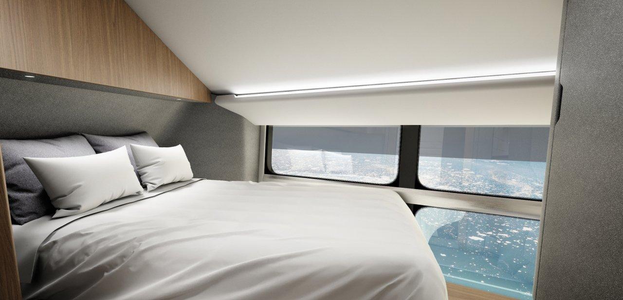 Airlander cabina