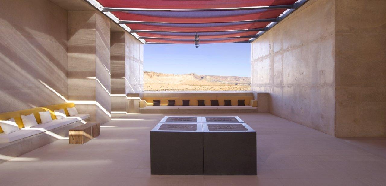 Amangiri salón Desert Lounge