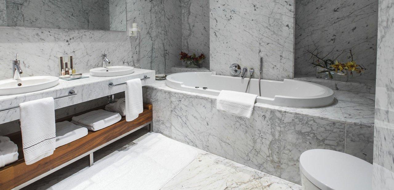 Baño de una habitación del Tomtom Suites Istanbul