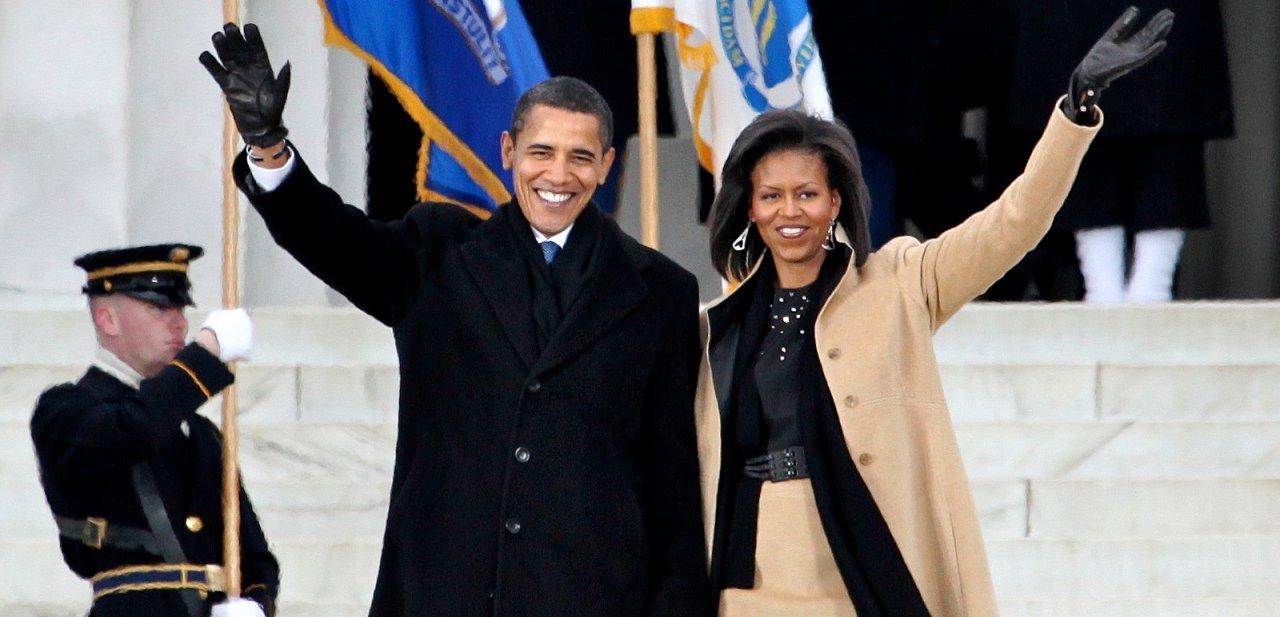 Barack y Michelle Obama, presidente y primera dama de los Estados Unidos
