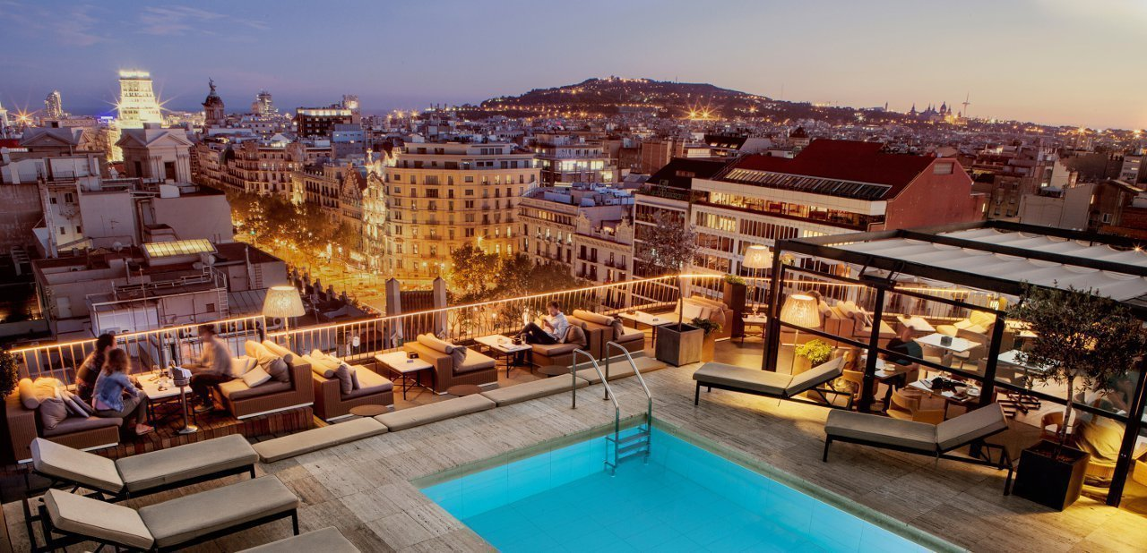 Barcelona desde una terraza