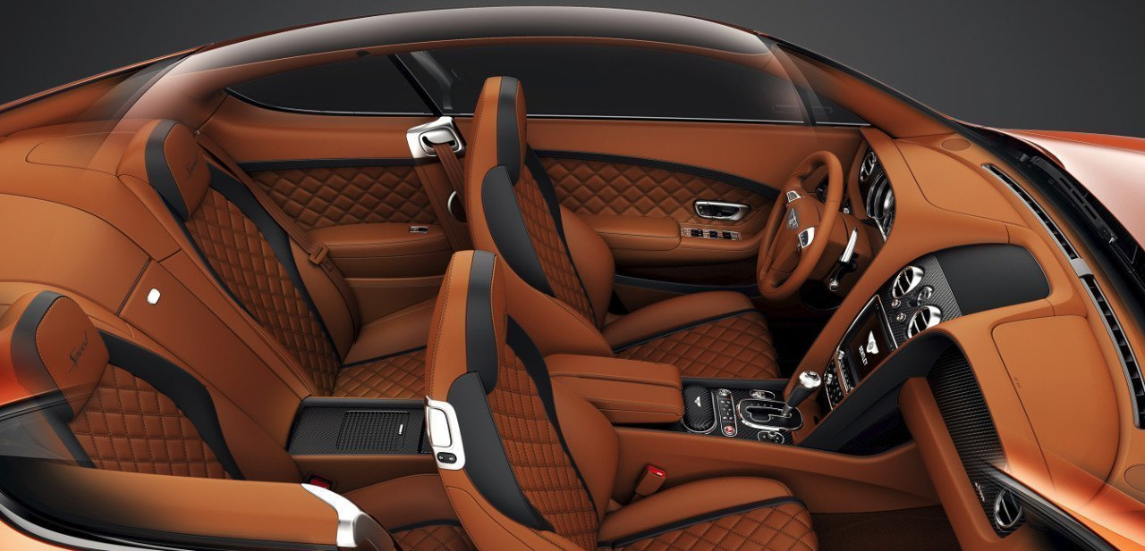 Bentley Continental GT Speed Black Edition, interior