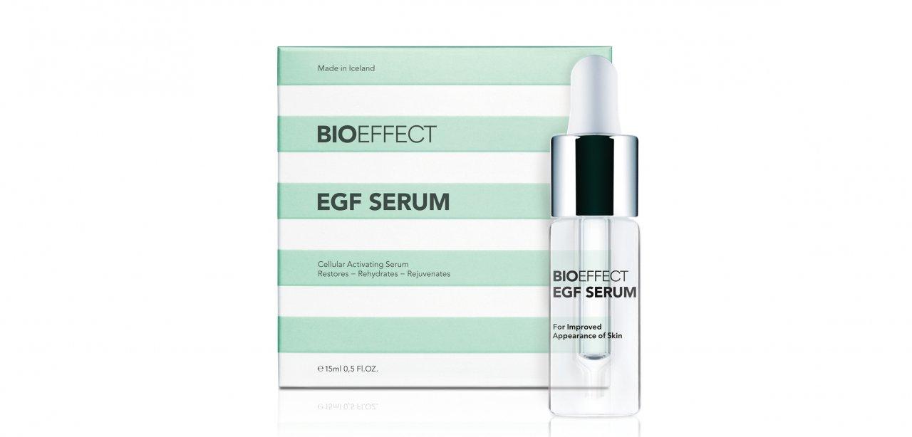 Bioeffect EGF Serum, frasco y caja