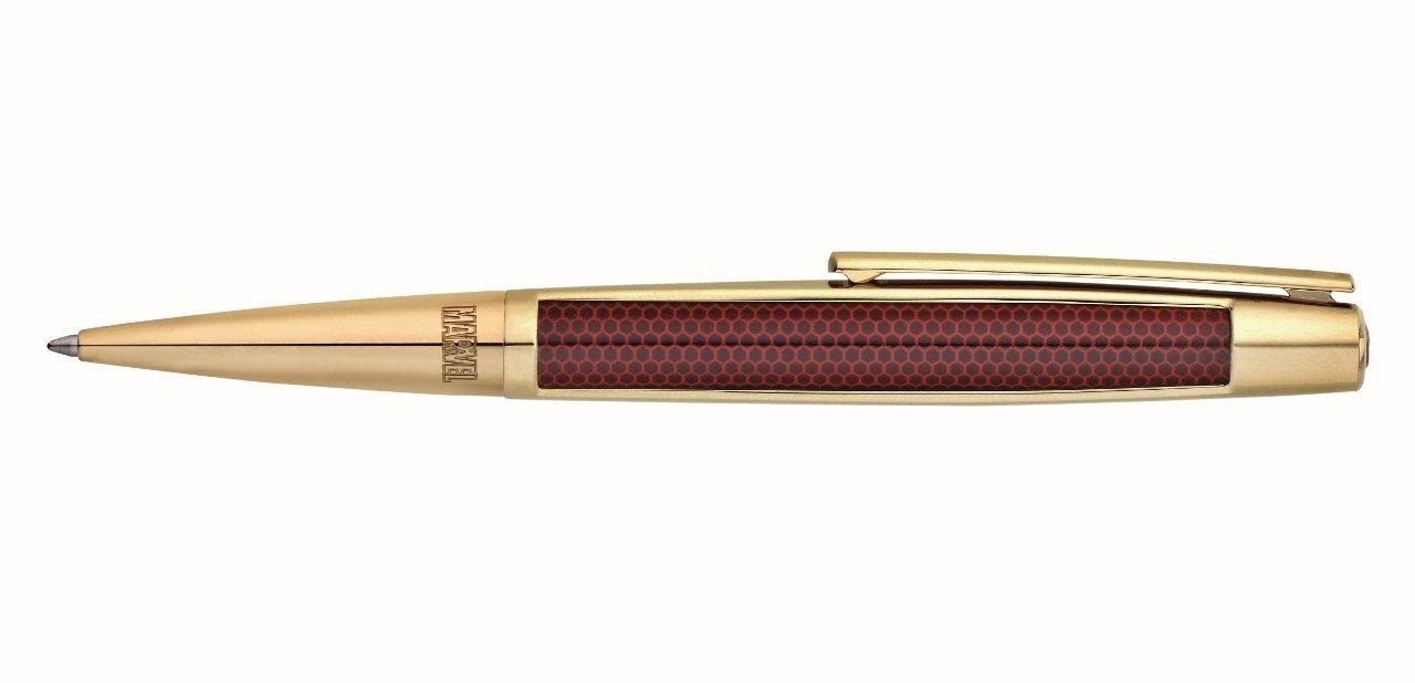 Bolígrafo dorado de S.T. Dupont Iron Man