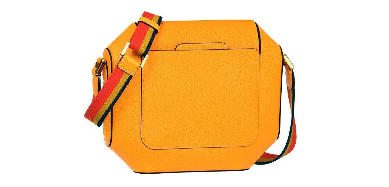 Bolso amarillo Hermès