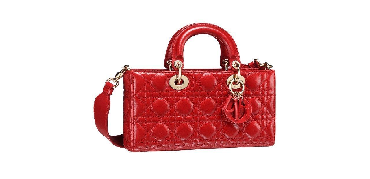 Bolso Dior Runway rojo
