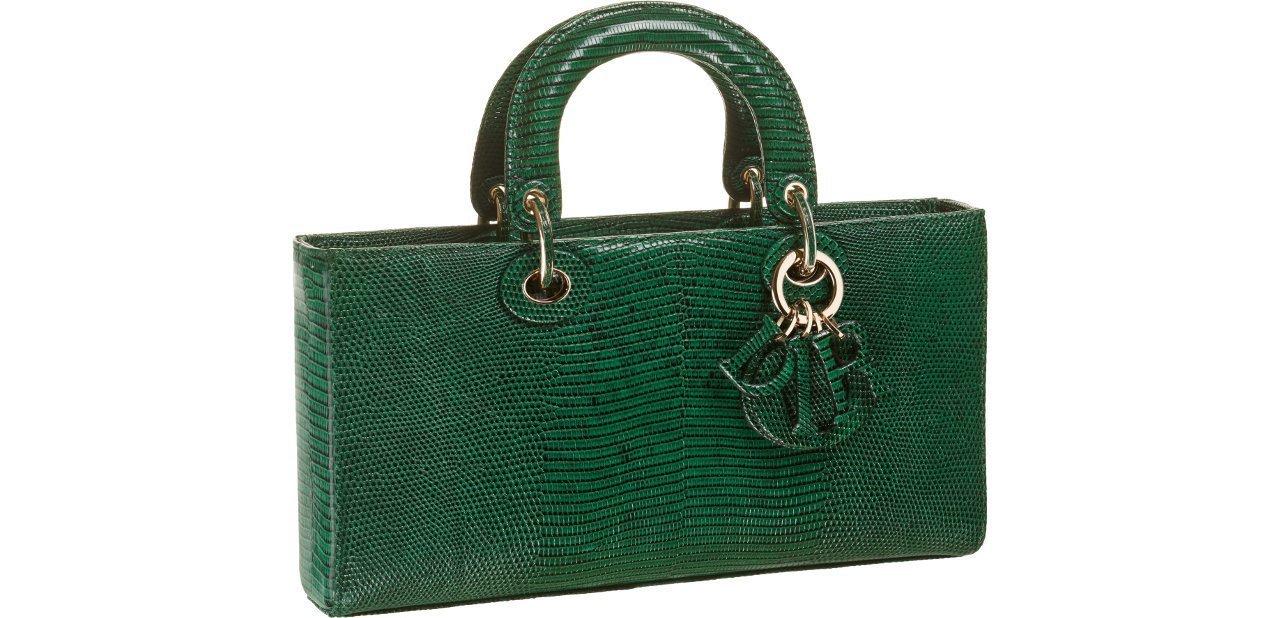 Bolso Dior Verde esmeralda Runway