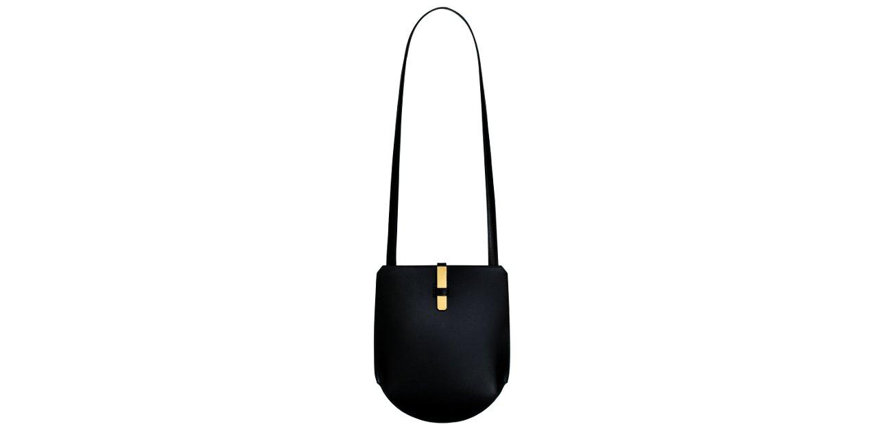 Bolso negro monedero Hermès