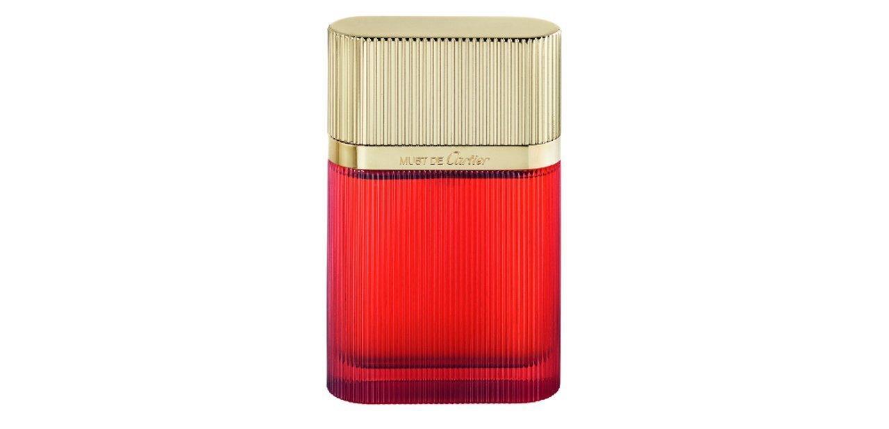 Eau de parfum Must de Cartier Gold, la esencia del primer perfume de ...