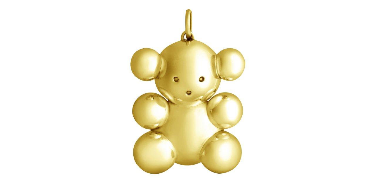 Bubble Bear clásico en oro
