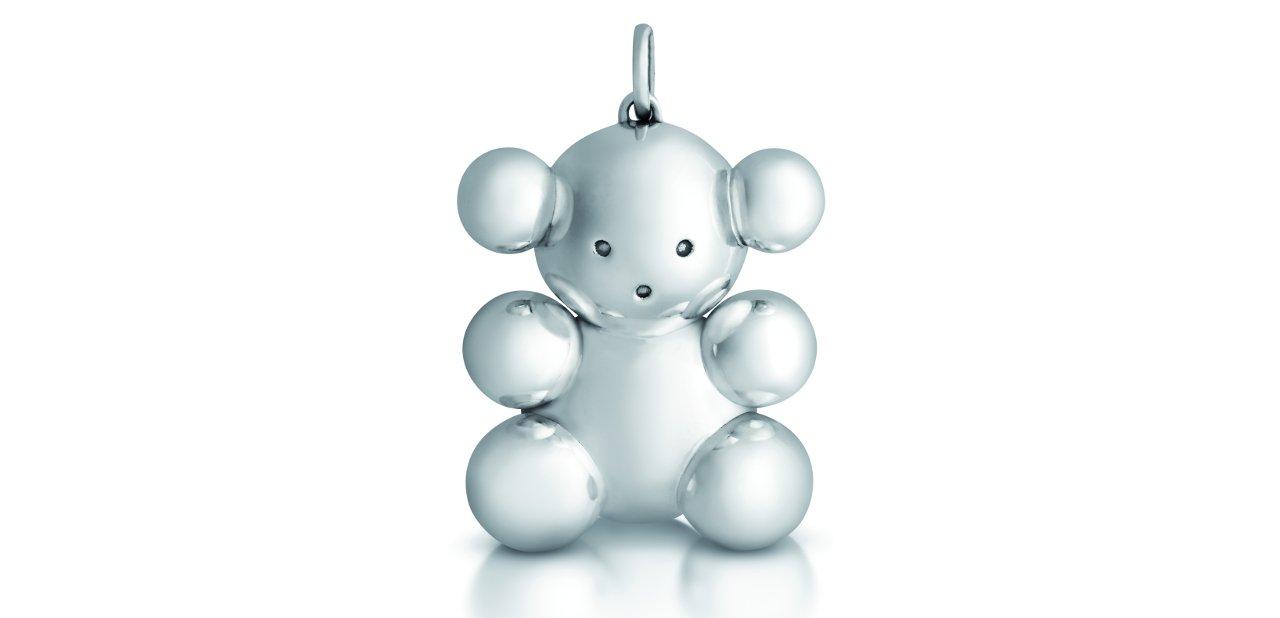 Bubble Bear clásico en plata