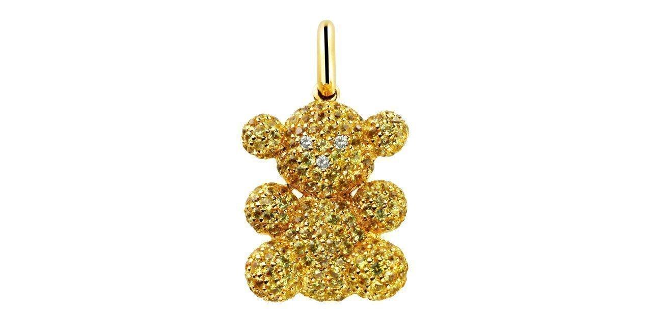 Bubble Bear en dorado