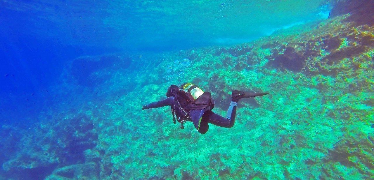 Buceo aguas transparentes
