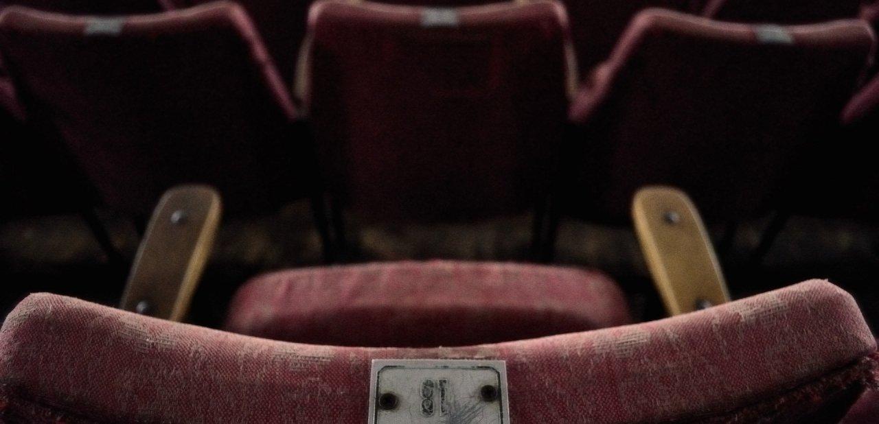 Butaca de una vieja sala de cine