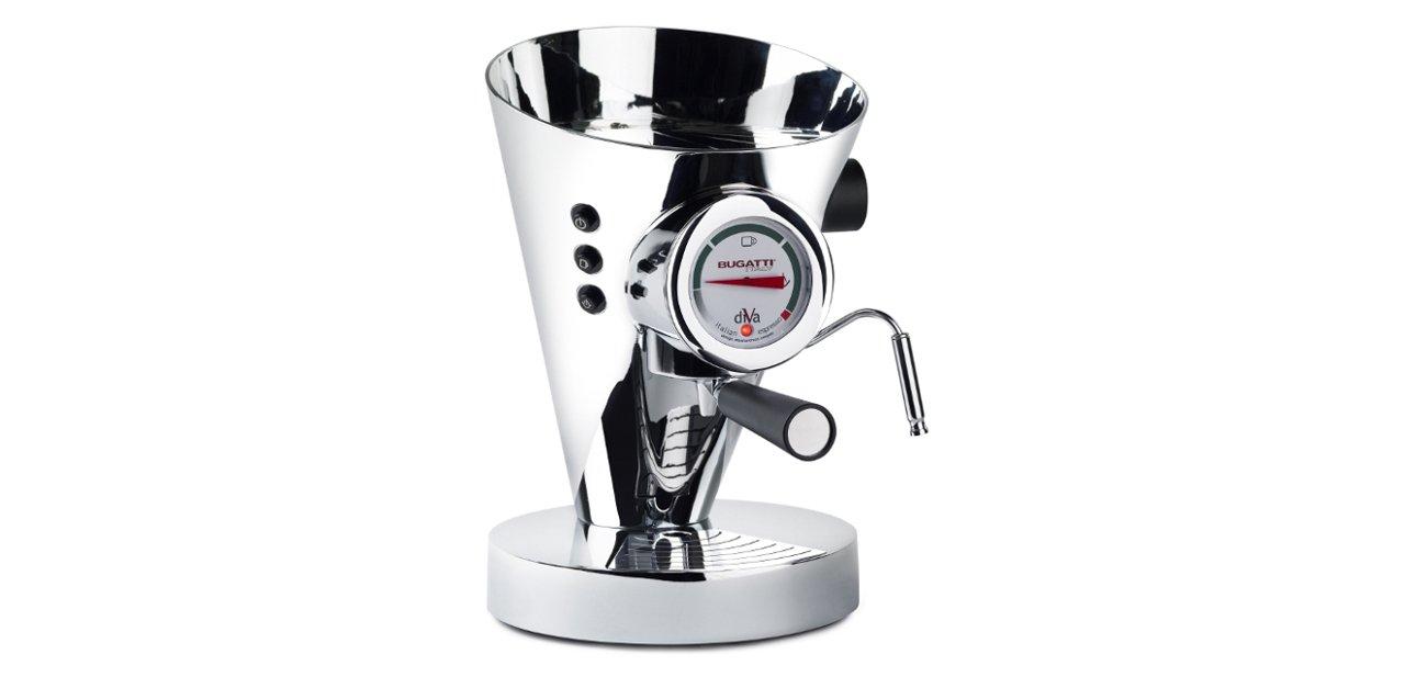 Cafetera Bugatti Diva Espresso Machine