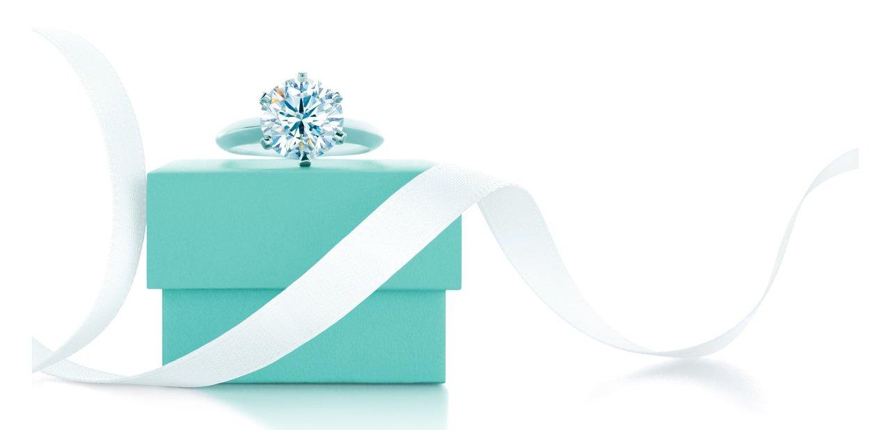 Caja Azul del anillo