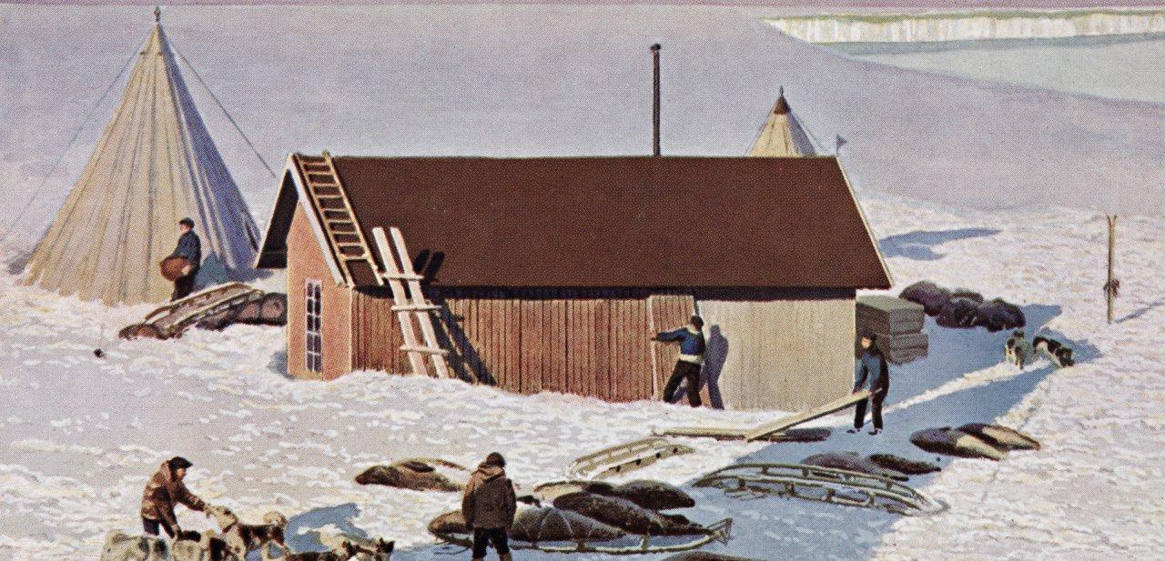 Campamento de Amundsen, Framheim