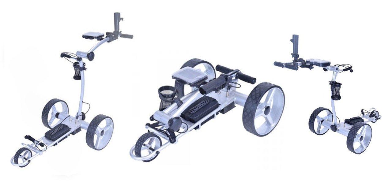Carrito Golfideal Rider L2 desmontado y por piezas