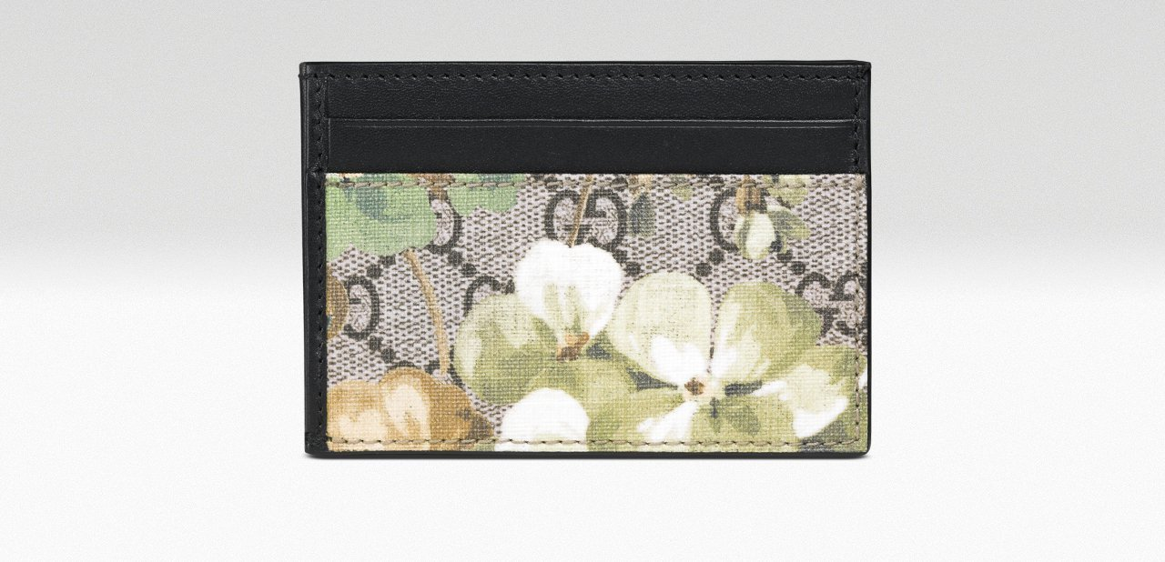 Cartera Francesa GG Blooms