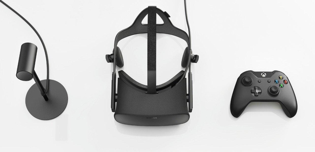 Casco Oculus Rift con complementos