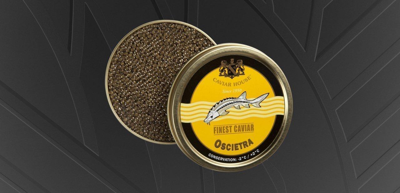 Caviar Oscietra de Caviar House