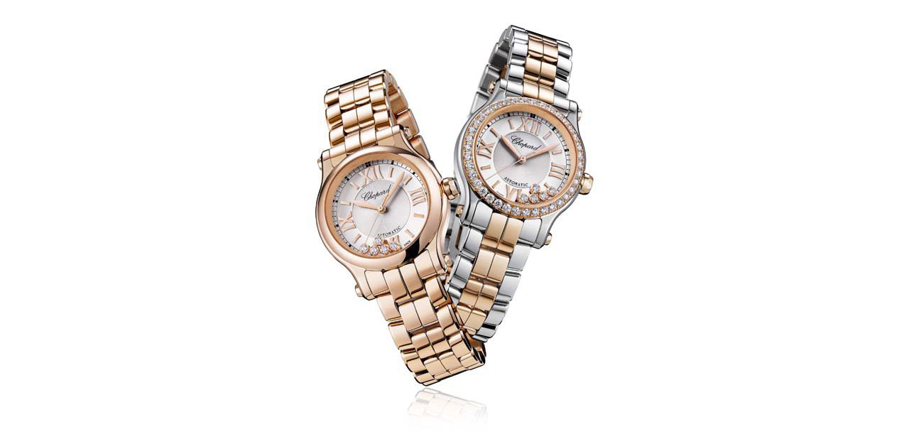 Chopard Happy Sport 30mm Automatic en oro y oro y acero