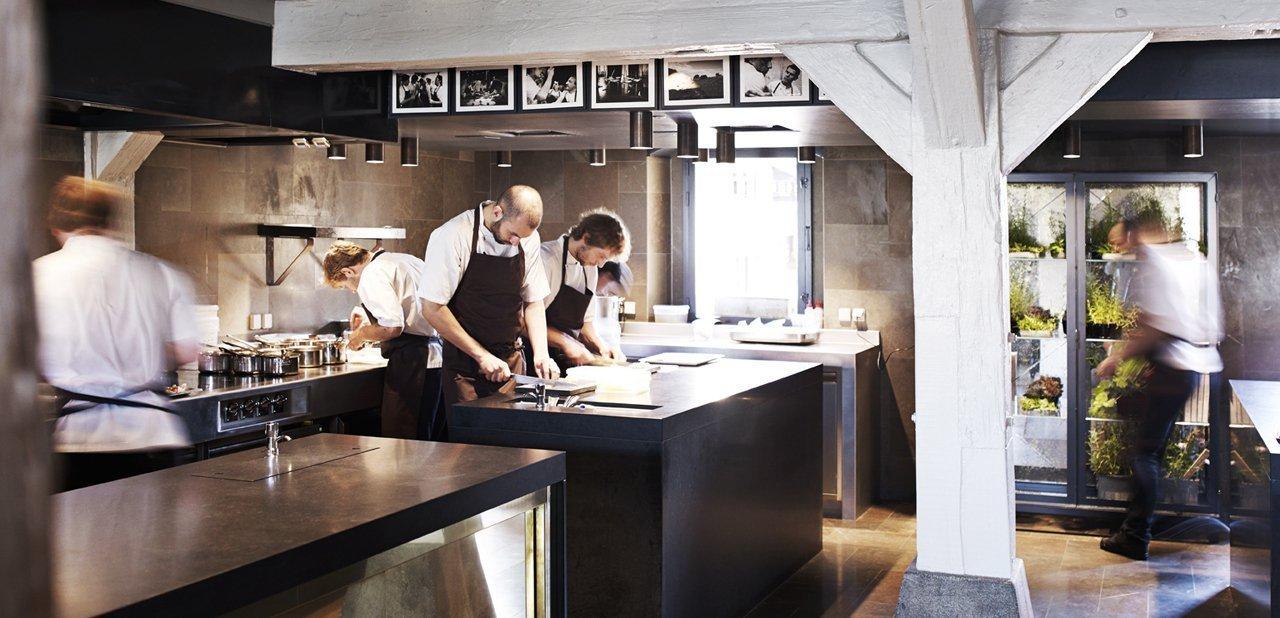 Cocina del restaurante Noma de René Redzepi