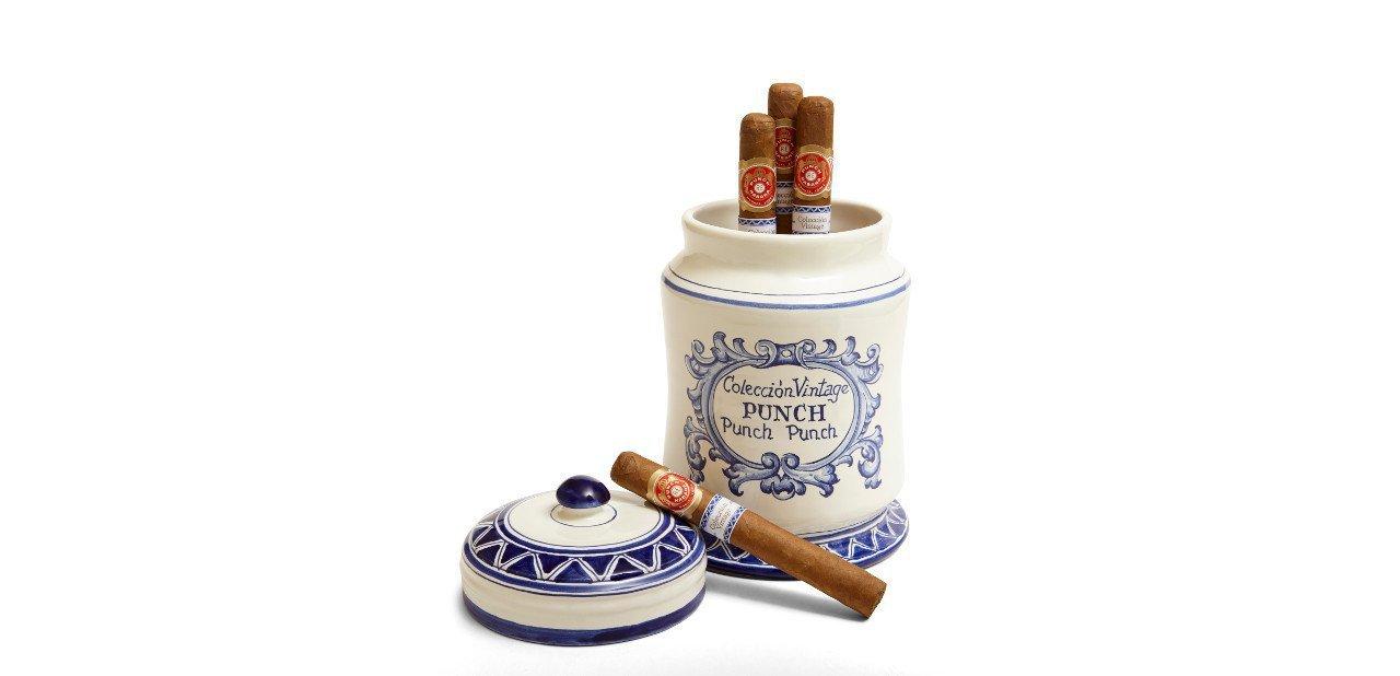 Colección de puros Punch en tarro cerámico