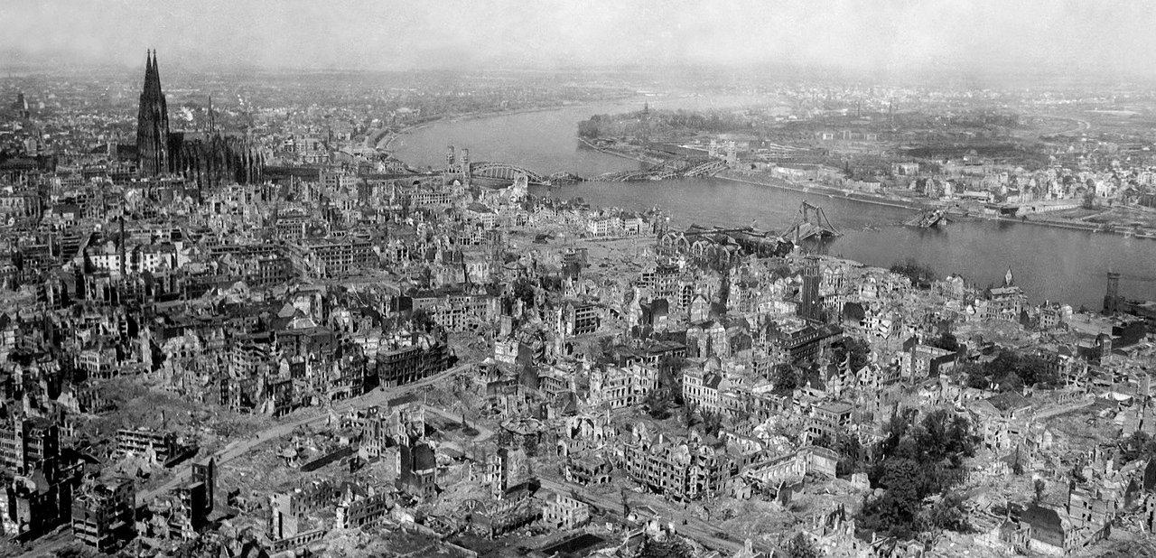 Colonia asolada en la II Guerra Mundial