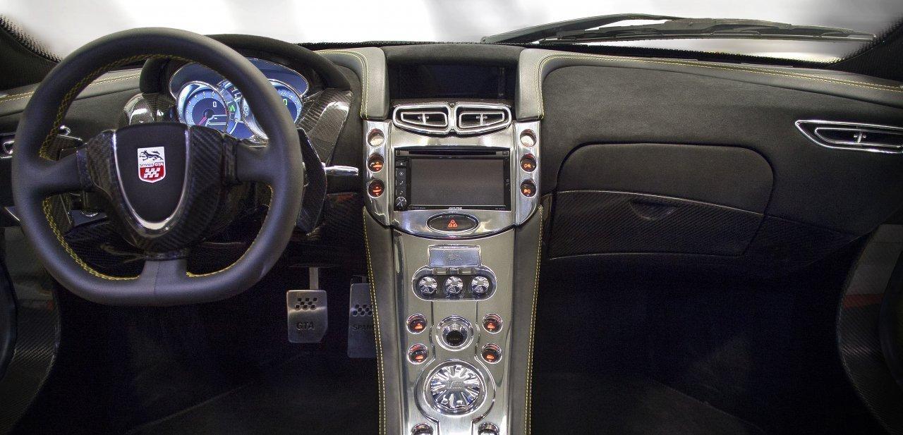 Consola del vehículo