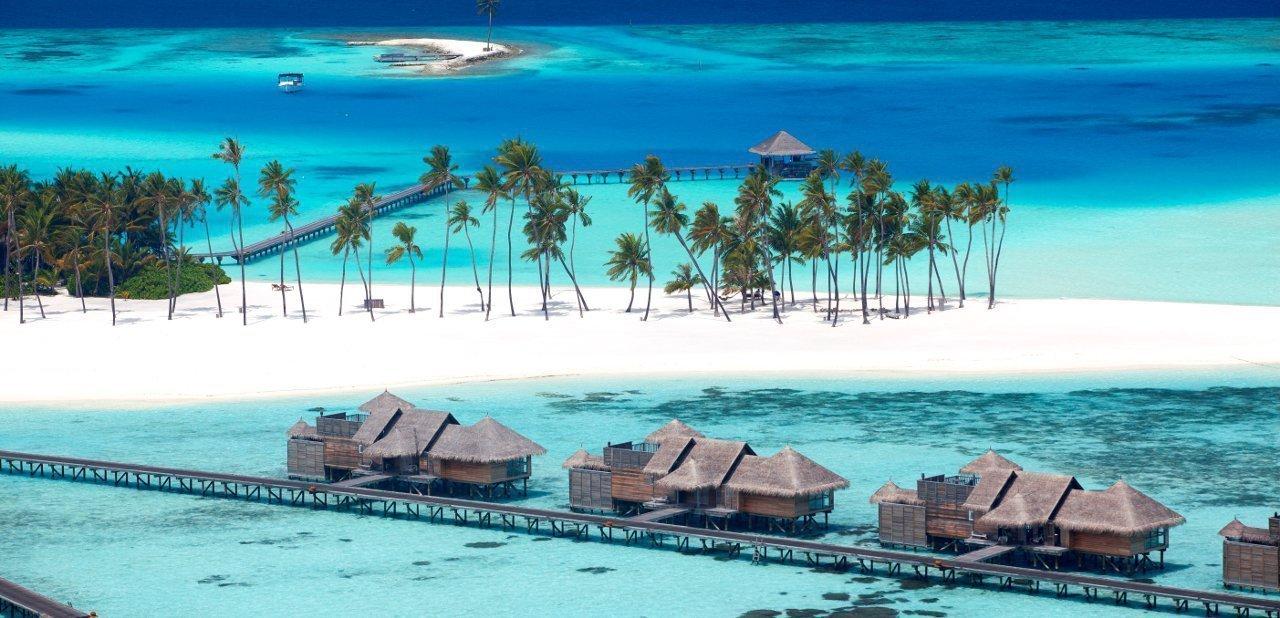 Construcciones sobre el agua de Gili Lankanfushi, Maldivas