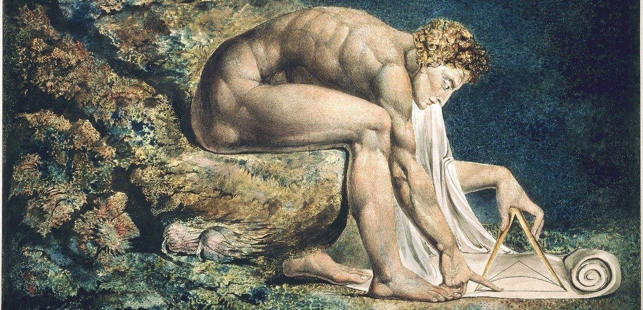 Cuadro alegórico a Isaac Newton