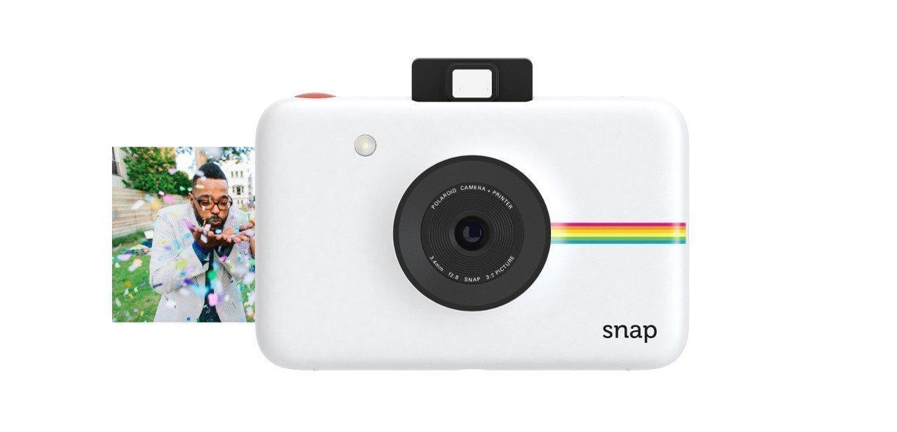 Detalle de impresión de la Polaroid Snap