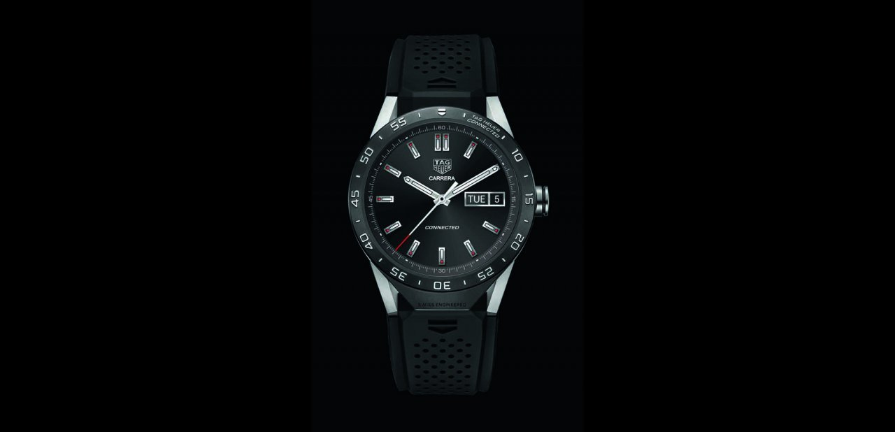 Detalle del TAG Heuer Connected
