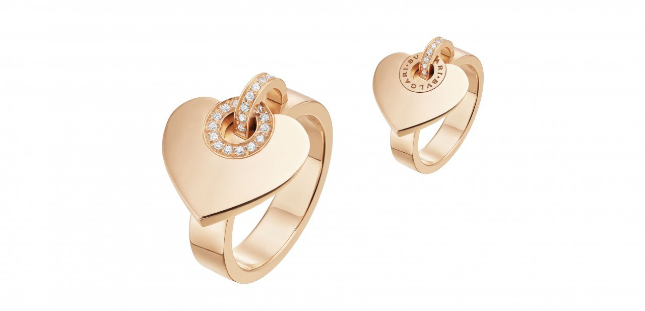 El anillo de la Cuore Collection de Bvlgari