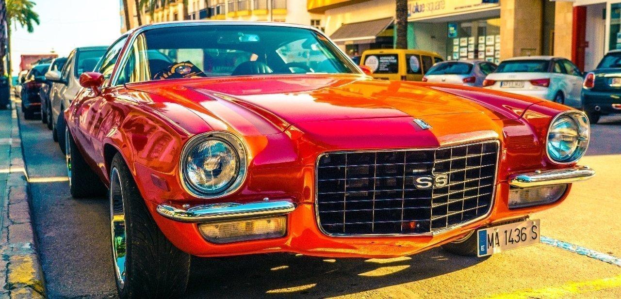 El Chevrolet Chevelle SS en rojo