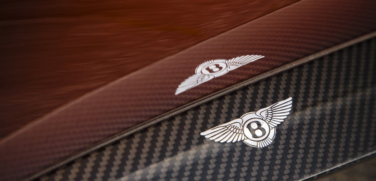 El emblema de Bentley