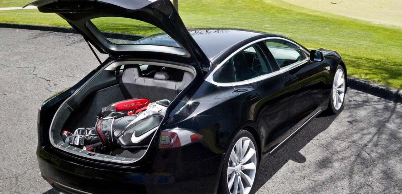El maletero del Model S