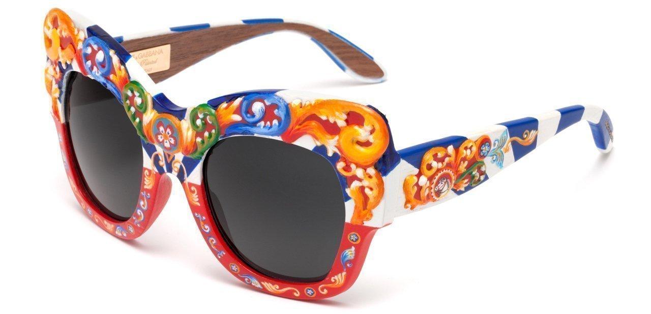 El modelo más atrevido de las gafas de sol Dolce & Gabbana Sicilian Carretto