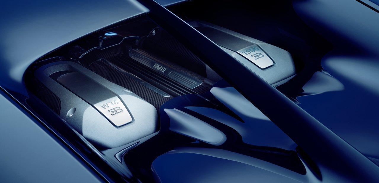 El motor W16 del Bugatti Chiron