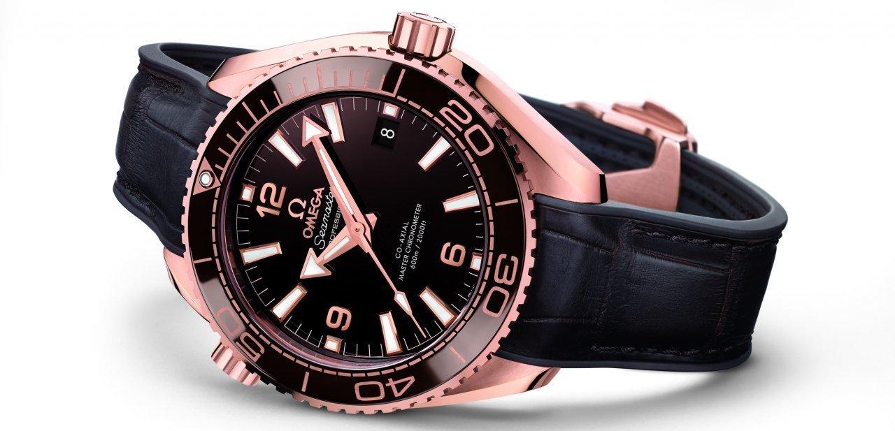 El Planet Ocean 600M Master Chronometer de Omega conocido como 'Chocolate'