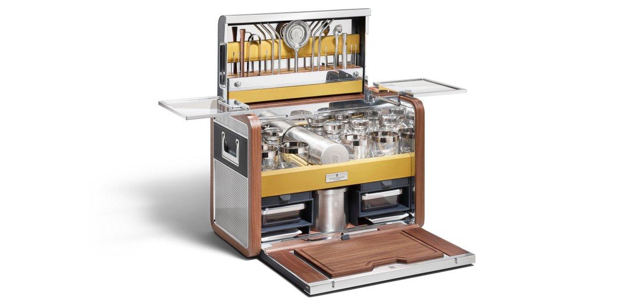 El set de coctel más exclusivo de Rolls Royce