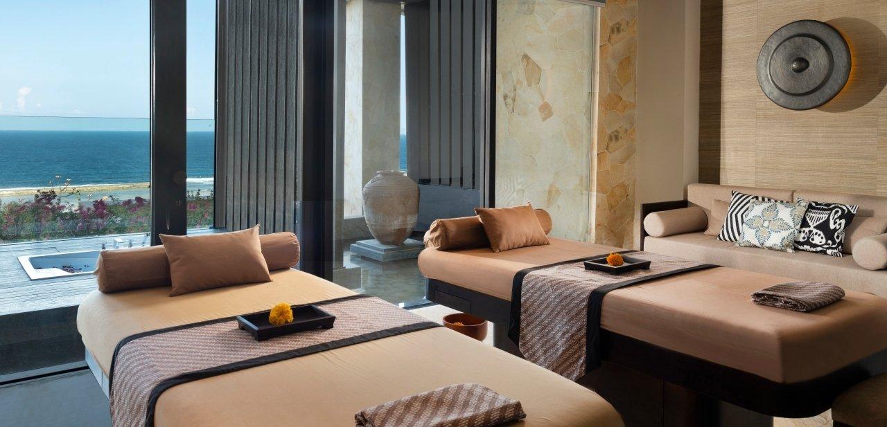 El spa está inspirado en las tradiciones holísticas de Indonesia
