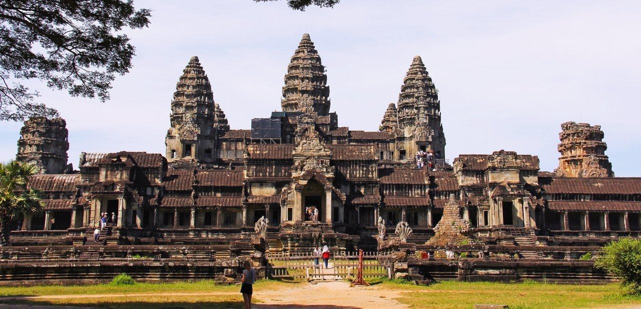 El templo de Angkor Wat