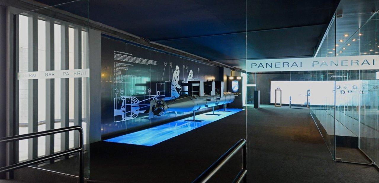 El torpedo de la exposición 'Historia y leyenda' de Panerai