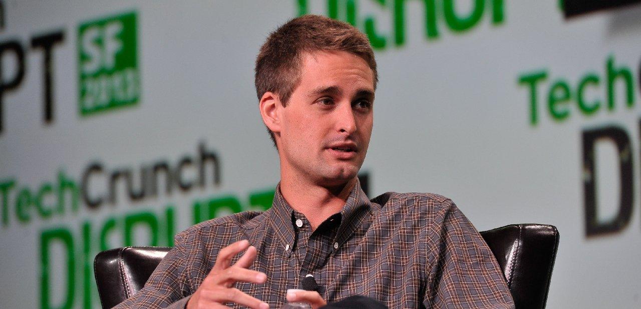 Evan Spiegel, creador de Snapchat