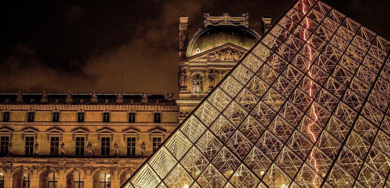 Exteriores del Museo del Louvre