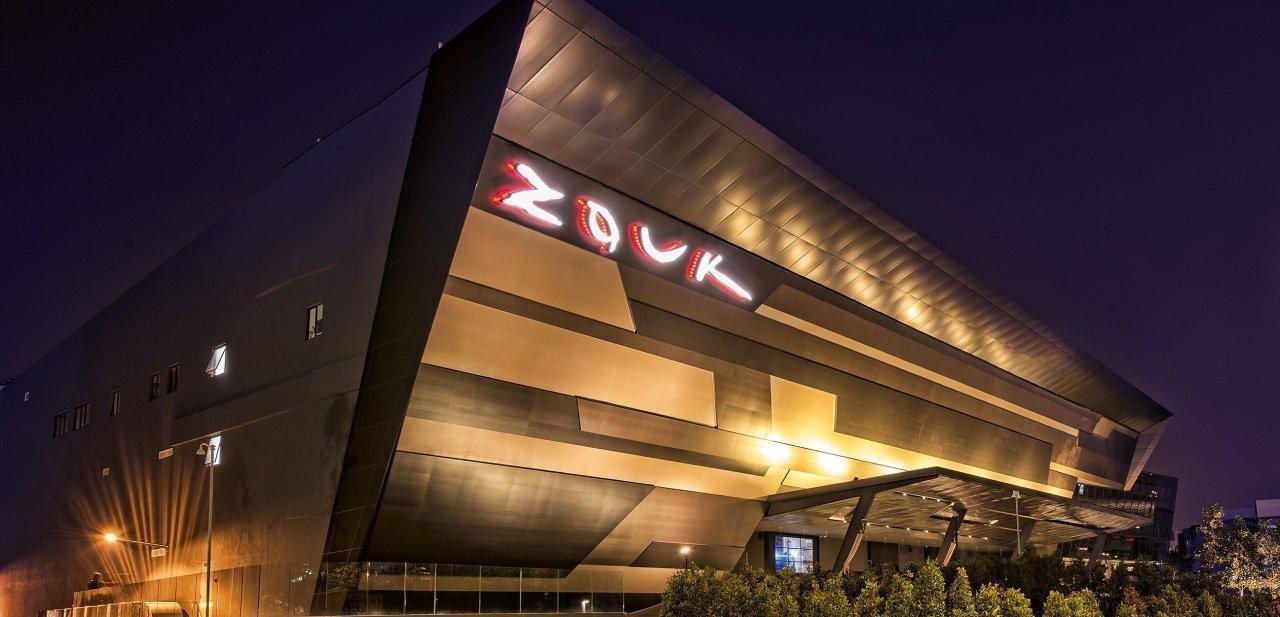 Exteriores del Zouk Club Kuala Lumpur