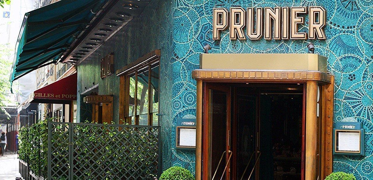 Fachada del restaurante Prunier