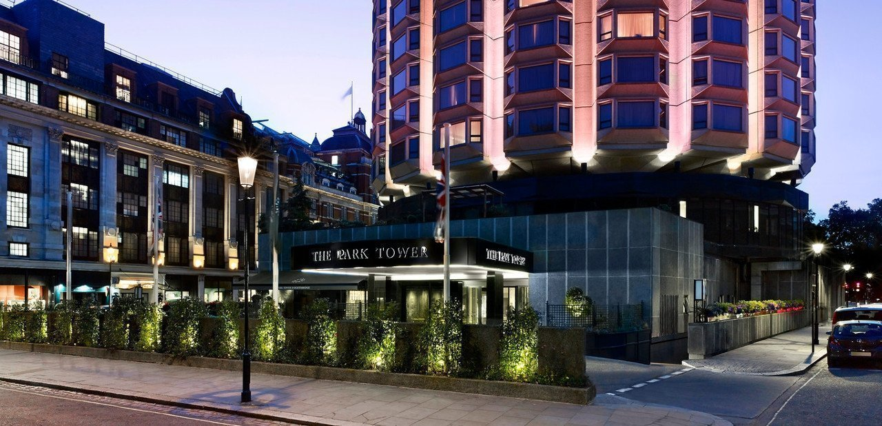 Fachada principal del The Park Tower Knightsbridge